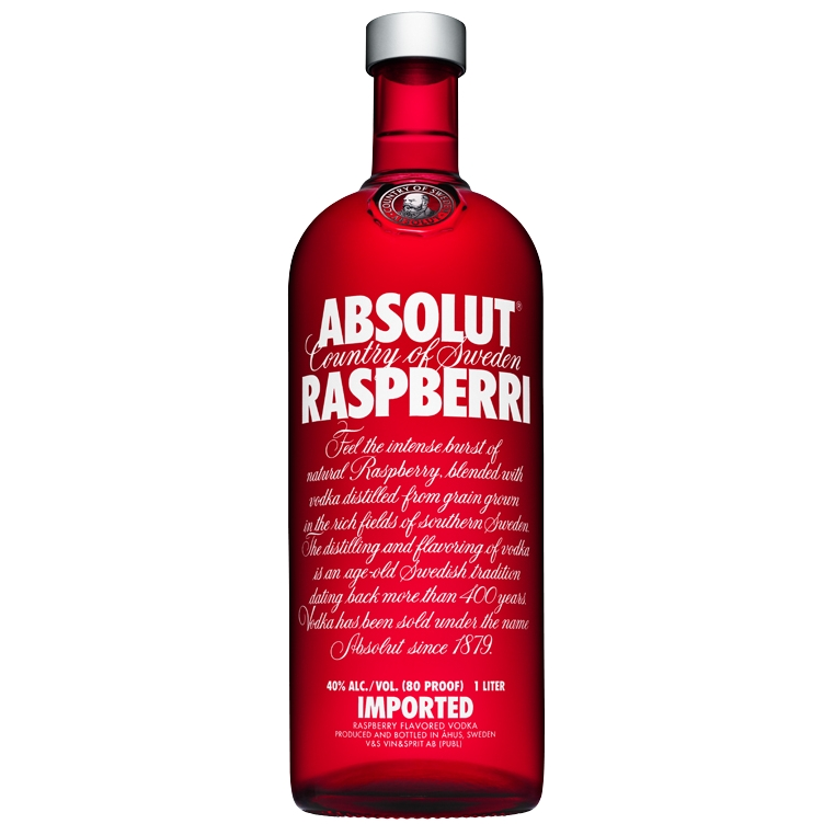 ABSOLUT RASPBERRY VODKA LTR for only $24.99 in online ...