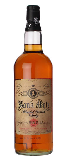 California Lemon Law >> BANK NOTE BLENDED SCOTCH WHISKEY .750 for only $17.99 in ...