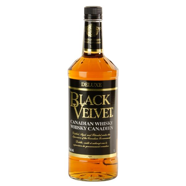 BLACK VELVET CANADIAN WHISKEY LTR for only $8.99 in online liquor ...