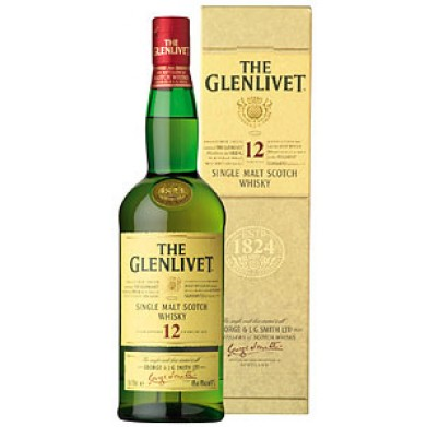 glenlivet 12 year old single malt scotch whiskey 750 for only