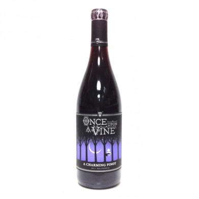 Once upon a vine pinot noir for only in online for Fish eye pinot grigio