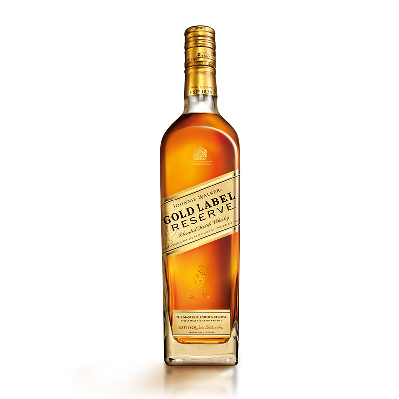 how to drink johnnie walker gold label