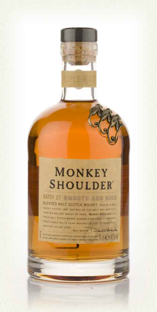 Monkey Shoulder Blended Scotch Whiskey 750 For Only 25